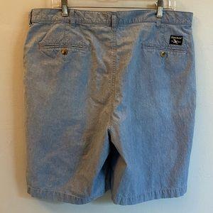 Eddie Bauer Classic Fit Denim Jean Shorts Size 38